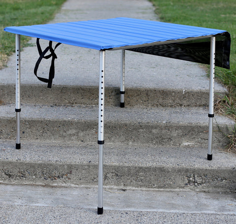 Four Adjustable Legs fit every Roll-a-Table® made since 1983, perfect for table leveling on rough campsites