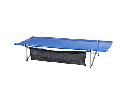 "Blemished New Blue Mesh, Long and Wide (LW) Roll-a-Cot® 79""x32""x15"""