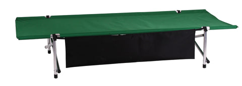 "Green Longhorn Roll-a-Cot ® (79""L x 32""W x 15""H) with sleeve for your air mattress"