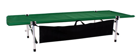 "Green Ibex Roll-a-Cot ®, 74""L x 28""W x 15""H with sleeve for your air mattress"