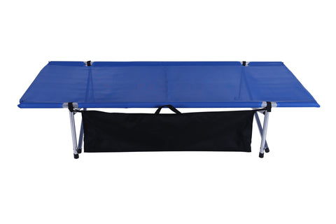 "Blue Mesh, Wide Roll-a-Cot® 74""x32""x15"""
