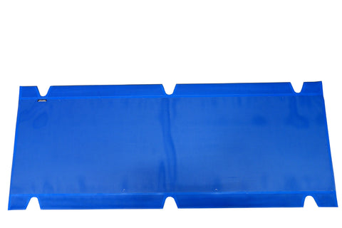 "Blue Mesh, XL Cot Top, 32"" x 84"""