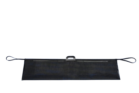 "Black mesh carry pouch for Roll-a-Cot®, XL Cot (3 Leg Frames) 12"" x 51"""