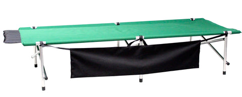"Green Bighorn Roll-a-Cot ®, 84""x32""x18"", with 3 leg frames and sleeve for your air mattress"