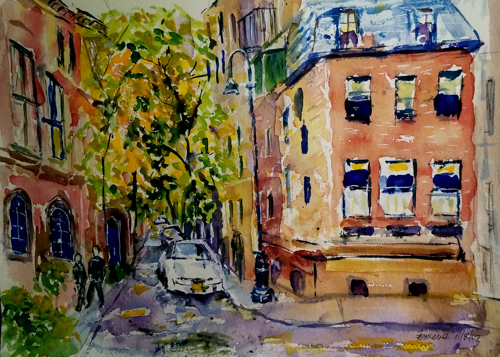 Barrow Street, Brooklyn Heights