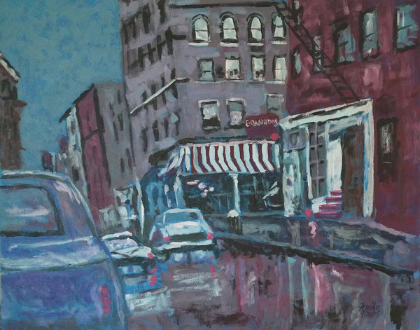 """McDougal Street, Greenwich Village"""