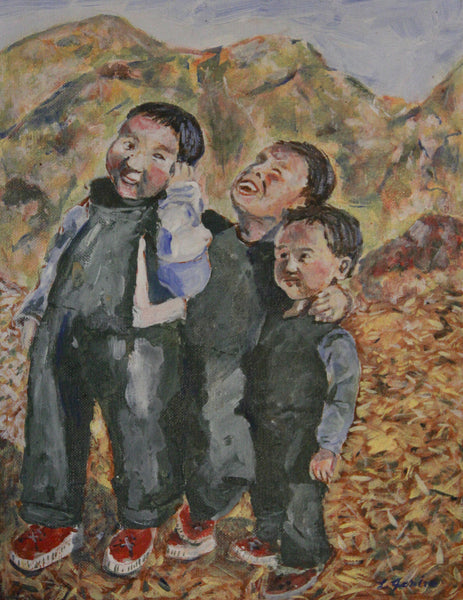 Three Tibetan Boys