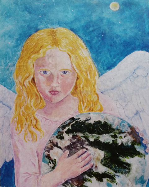 Angel With Earth