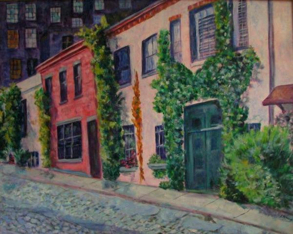 The Mews in Greenwich Village