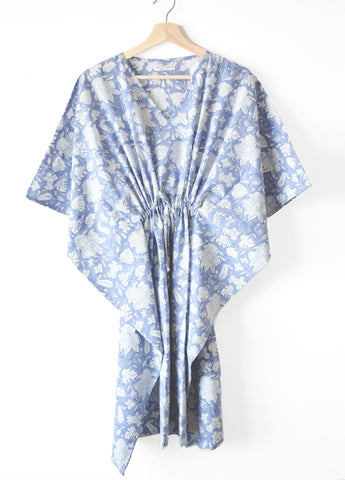 Blue Lily Kaftan Dress