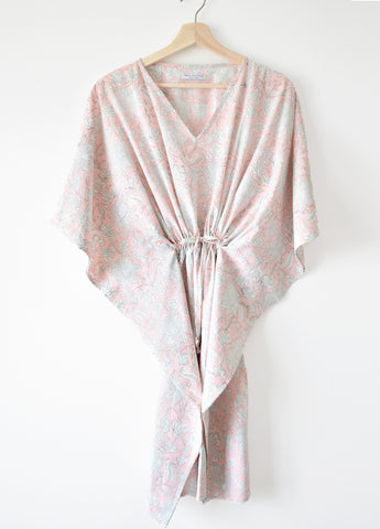 Blush Pink Kaftan Dress