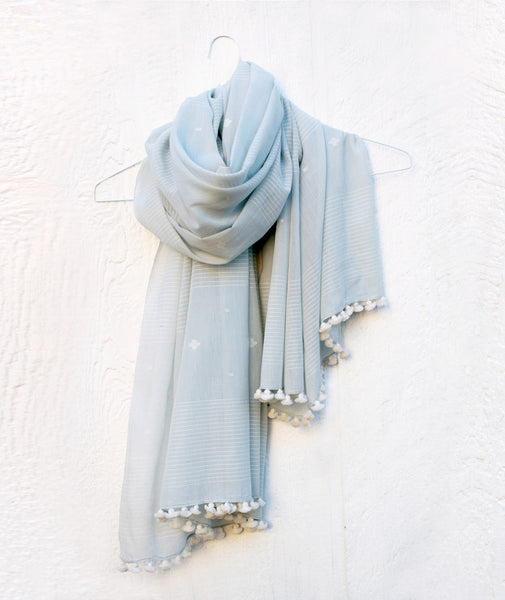 Flowy Ice Blue