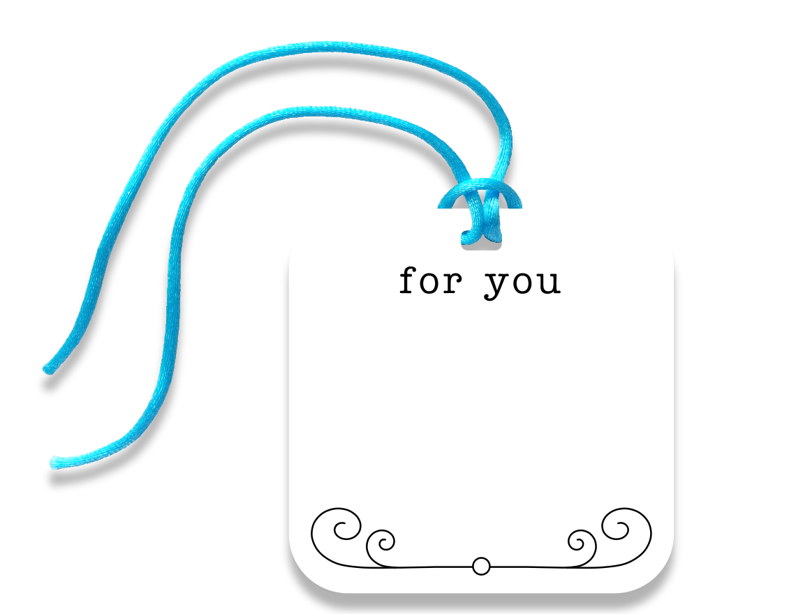 for you gift tag - the gifted tag