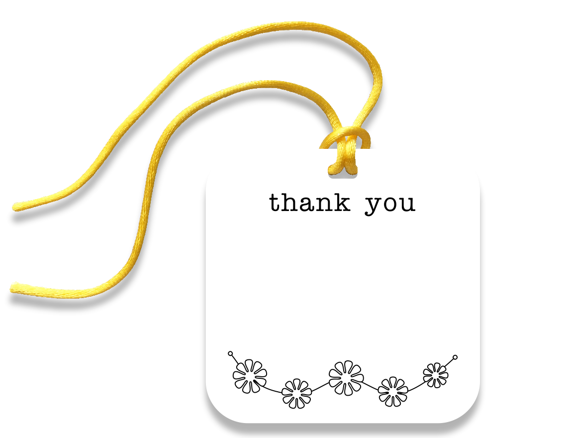 thank you gift tag - the gifted tag
