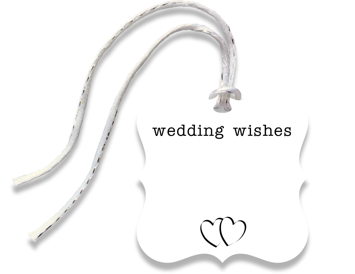 wedding gift tag - the gifted tag