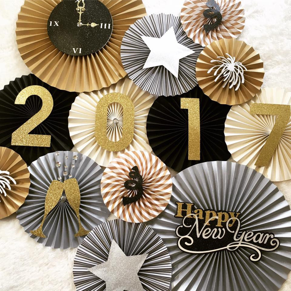 New Years Eve Party Backdrop Pleats On Sheets