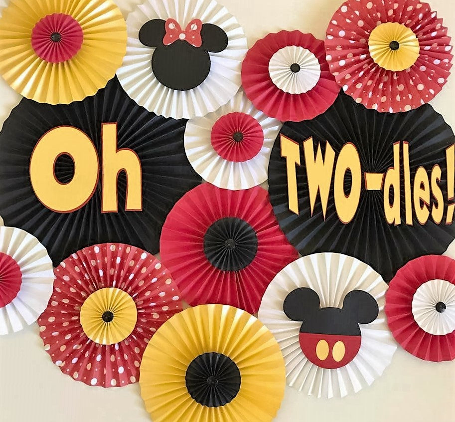 Oh Two-dles! Theme Backdrop