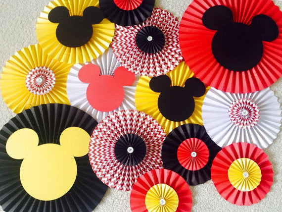 Mickey Mouse Themed Party Backdrop