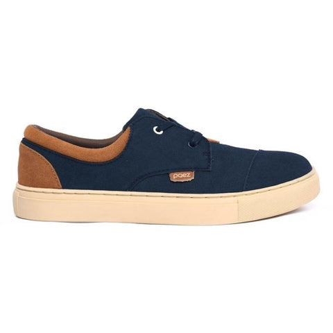 SNEAKER - GARUPA LOW NAVY BLUE/CAMEL 16