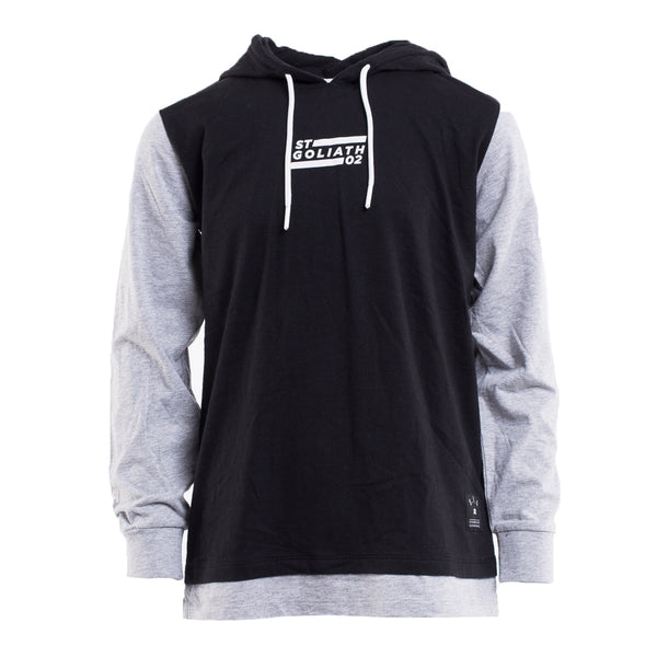 RUSHING HOODED L/S TEE