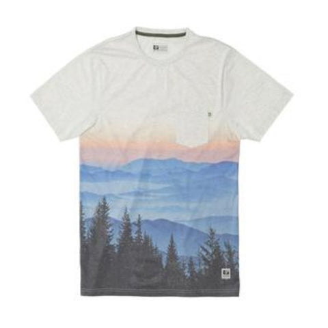TREELINE TEE HEATHER NATURAL