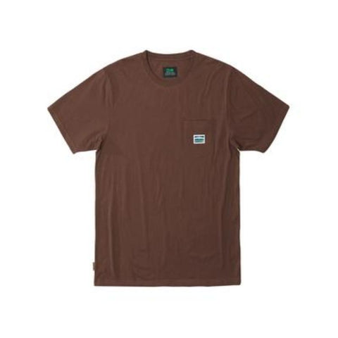 TRADESMAN KNIT TEE CHOCOLATE