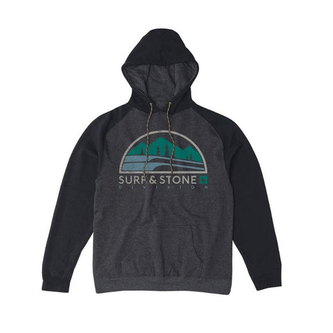 COASTAL HOODY HEATHER CHARCOAL