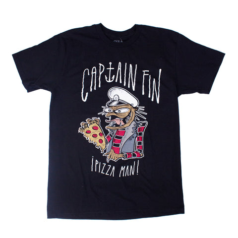 Pizza Man Premium Tee Black (CT173252.BLK)