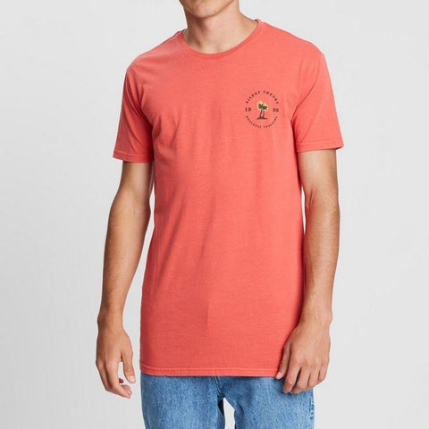 Tropical Illusion Tee Red