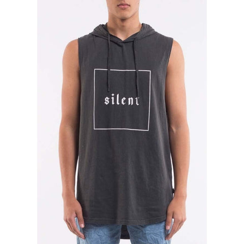 Box Hooded Tank Charcoal