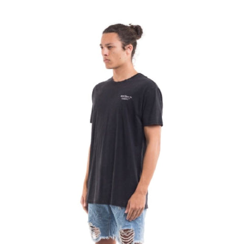 Torched Tee Washed Black