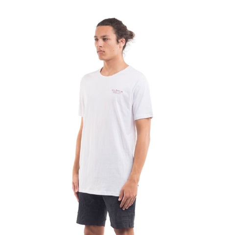 Torched Tee White