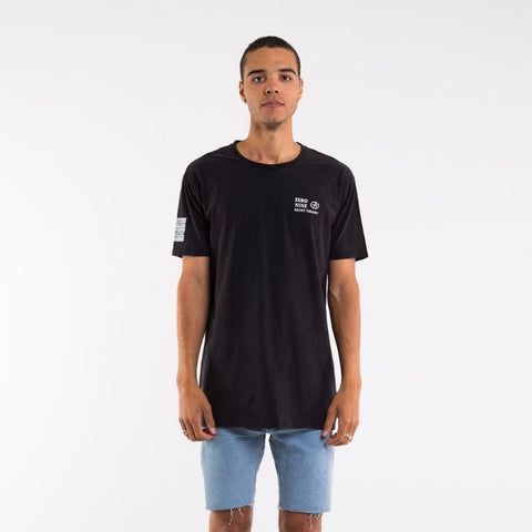 Biff Tee Washed Black