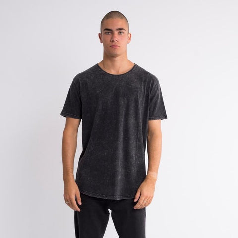 Tail Tee Washed Black
