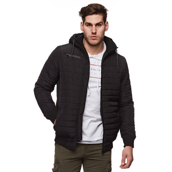 Deserted Puffer Jacket Black