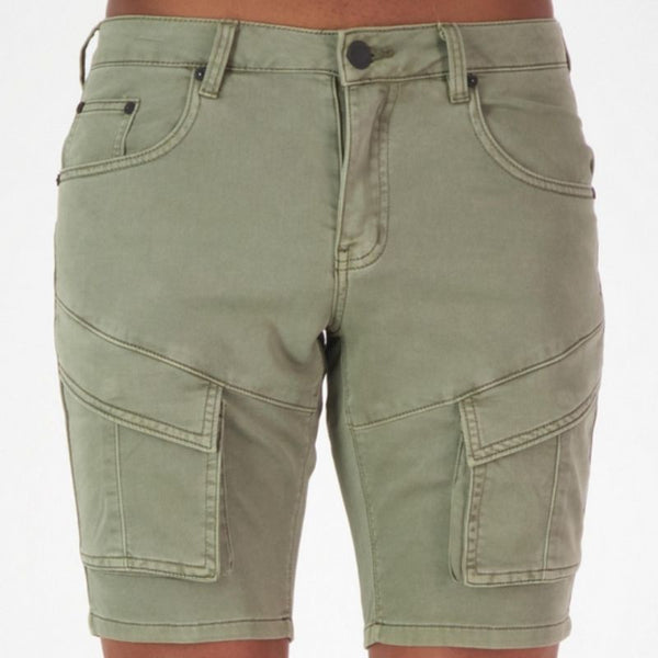 Fools Gold Fix Waist Short Khaki