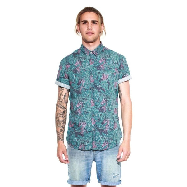 Spotted S/S Shirt  Floral