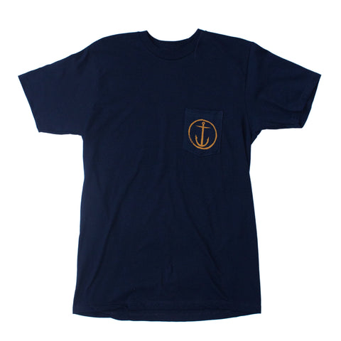 Helm Premium Pocket Tee Heather Navy (CFM3231517.NVY)