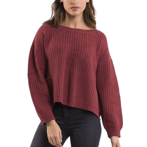 Intern Knit Burgundy