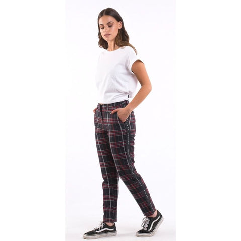 Rated Plaid Pant Navy