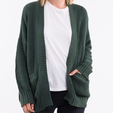 Envy Cardi Bottle Green