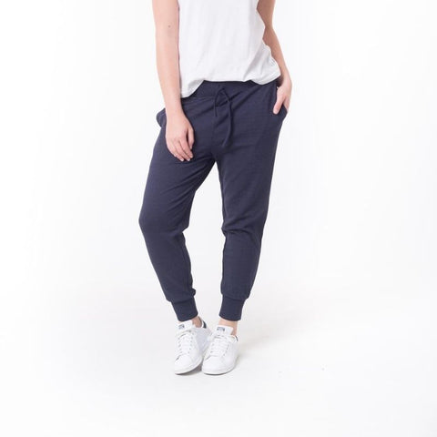 Never Wrong Pant Navy Speckle