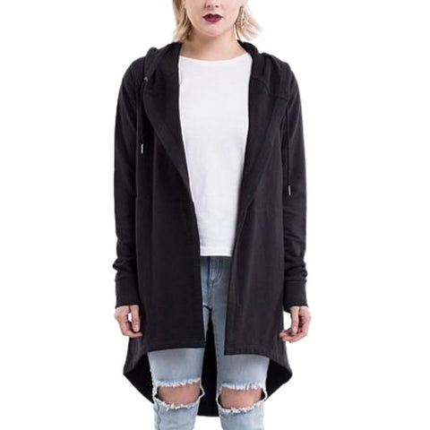 Ashleigh Hooded Cardi Black