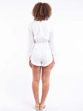 Avery Playsuit White