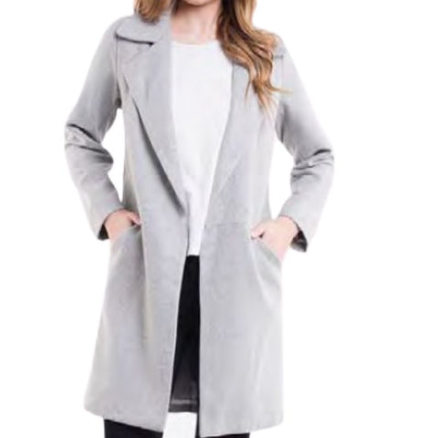 Bermuda Coat Grey