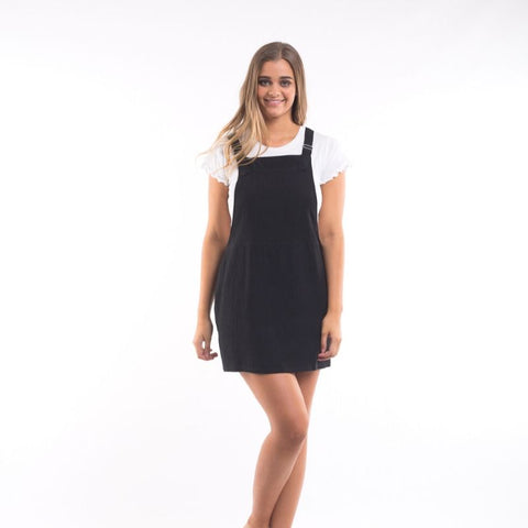 Alba Pinafore Black