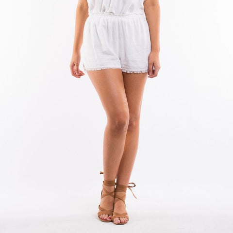 Addison Shorts  White