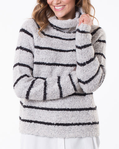 WHIRLWIND STRIPE PULLOVER