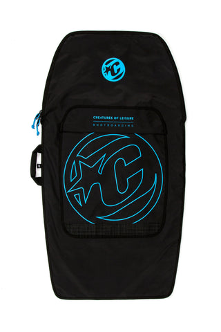 BODYBOARD DAY USE (1 BOARD) : BLACK/CYAN