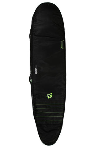 LONGBOARD DOUBLE : BLACK/LIME